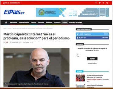 El País.cr – Martín Caparrós