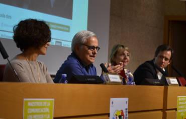 Círculo de Tiza, en las Jornadas sobre Maestros de la Comunicación de la Universidad Complutense de Madrid