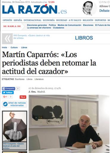 La Razón – Martín Caparros