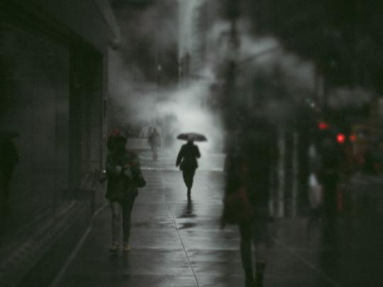 Escribir y pasear es callarse