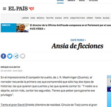 El País -David Shields
