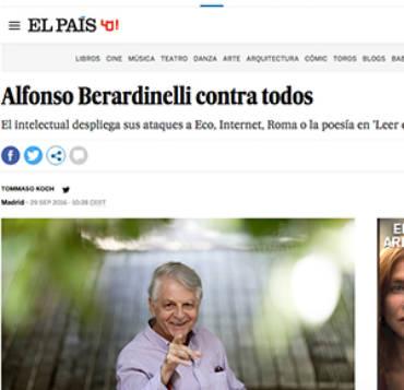 El País – Alfonso Berardinelli