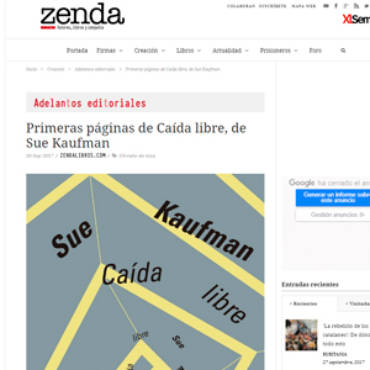 Zenda -Sue Kaufman