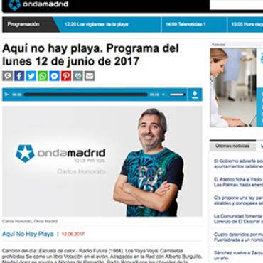 Tele Madrid – Javier Aznar