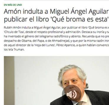 Onda Cero – Miguel Ángel Aguilar