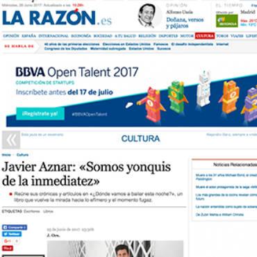 La Razón – Javier Aznar