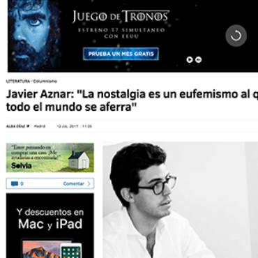 El Mundo – Javier Aznar