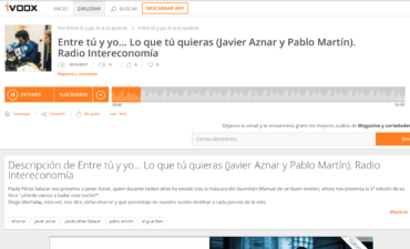 Radio Intereconomía – Javier Aznar