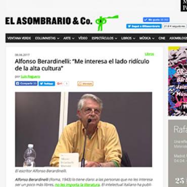 El Asombrario – Alfonso Berardinelli