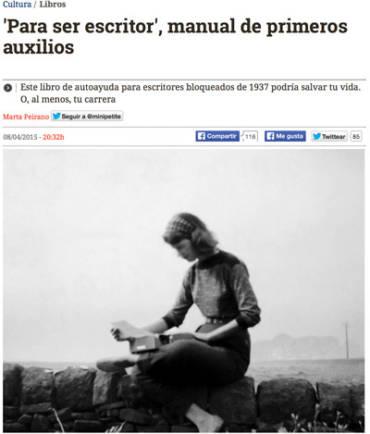 El Diario – Dorothea Brande