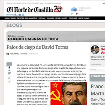 El Norte de Castilla – David Torres
