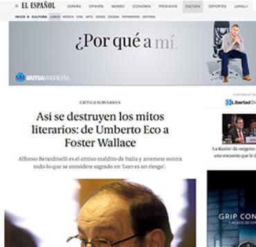 El Español – Alfonso Berardinelli