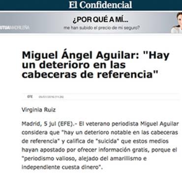 El  Confidencial – Miguel Ángel Aguilar