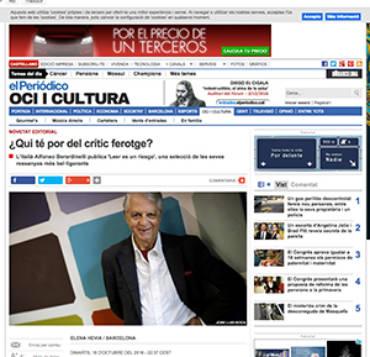El Periódico – Alfonso Berardinelli