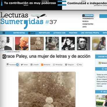 Lecturas Sumergidas – Grace Paley