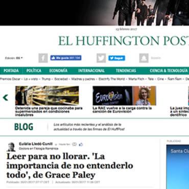 Huffington Post – Grace Paley