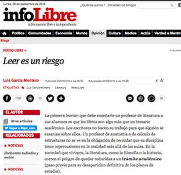 Infolibre – Alfonso Berardinelli