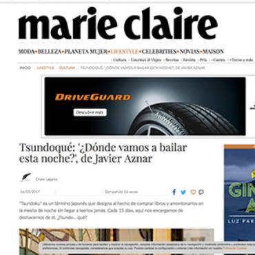 Marie Claire -Javier Aznar