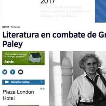 El Mundo – Grace Paley