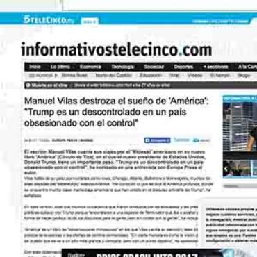 Telecinco – Manuel Vilas