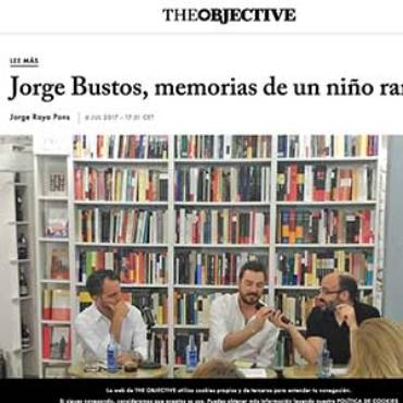 The Objetive – Jorge Bustos