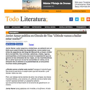 Todo Literatura – Javier Aznar