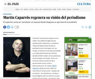 El País – Martín Caparros