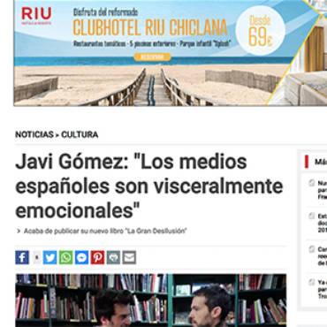 Telemadrid – Javi Gómez