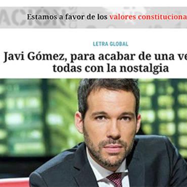Letra Global – Javi Gómez