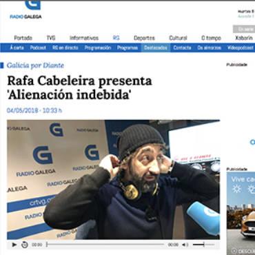 Radio Gallega – Rafa Cabeleira