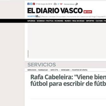 Diario Vasco – Rafa Cabeleira