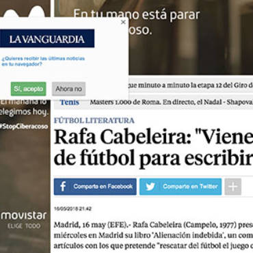La Vanguardia – Rafa Cabeleira