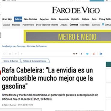 Faro de Vigo – Rafa Cabeleira