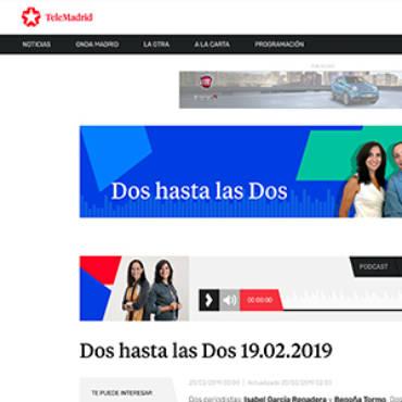 TeleMadrid – David Gistau