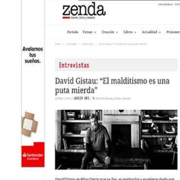 Zenda – David Gistau