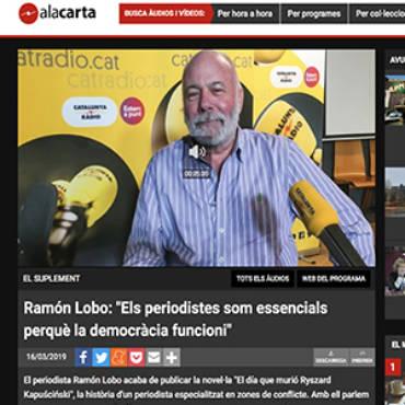 Cataluña Radio / A la carta – Ramón Lobo