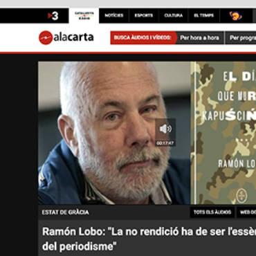 Cataluña Radio – Ramón Lobo