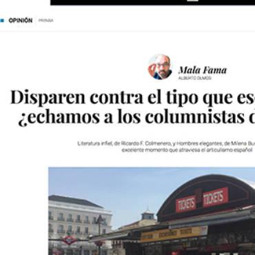 El Confidencial – Ricardo F. Colmenero