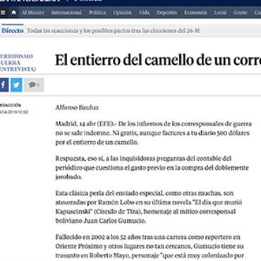 La Vanguardia – Ramón Lobo