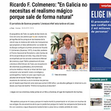 Faro de Vigo – Ricardo F. Colmenero