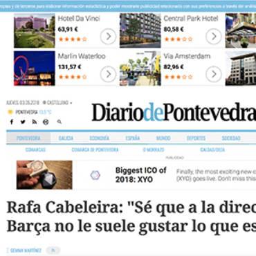 Diario de Pontevedra – Rafa Cabeleira