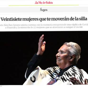 La Voz de Galicia – Loreto Sánchez Seoane