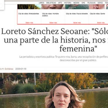 Libertad digital – Loreto Sánchez Seoane