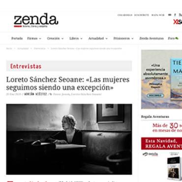 Zenda – Loreto Sánchez Seoane