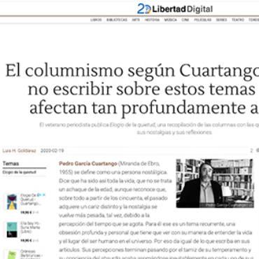 Libertad Digital – Pedro García Cuartango