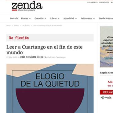Zenda – Pedro García Cuartango