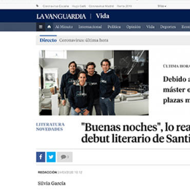 La Vanguardia – Santiago Isla