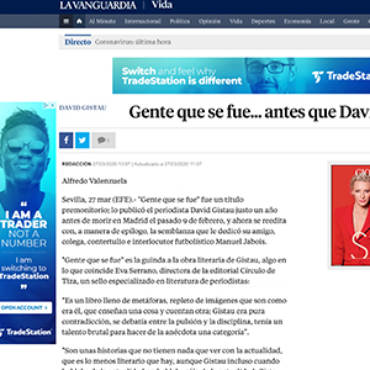 La Vanguardia – David Gistau