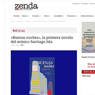 Zenda – Santiago Isla