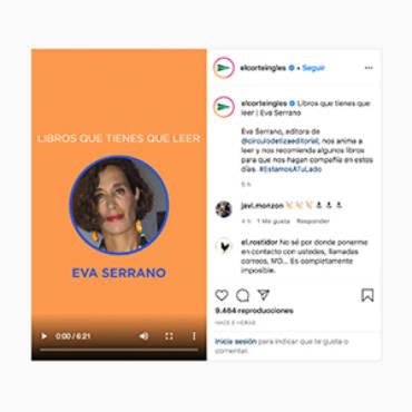 El Corte Inglés – Eva Serrano